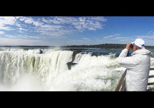 Pujyashree visited Iguacu falls in Brazil, one of the most majestic natural wonders of the world.
