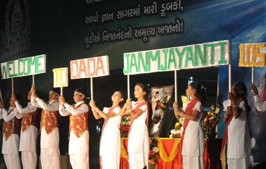 A BIG welcome from the Bhavnagar Little Mahatmas